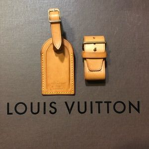 Louis Vuitton Luggage Tag with Holder
